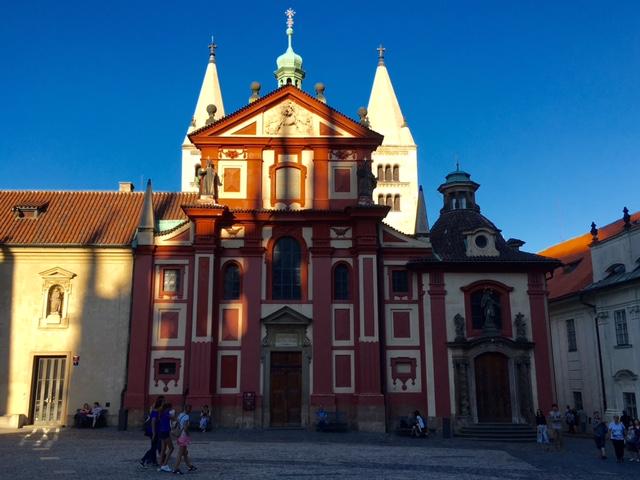 St George basilica at Prague castle