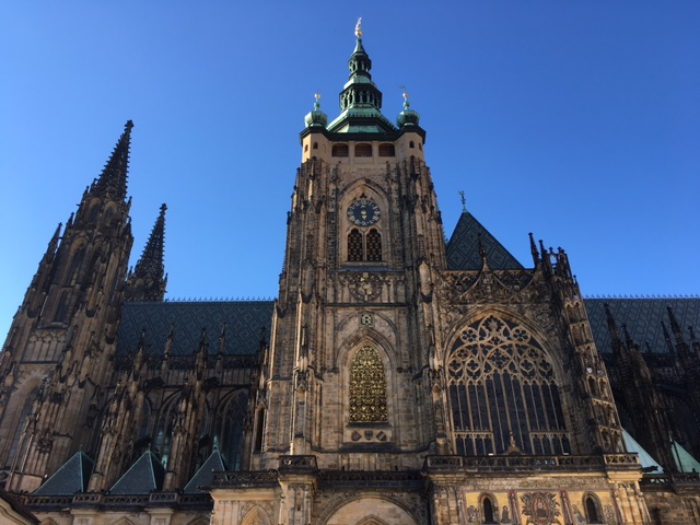 St Vitus Cathedral at Prague Castle