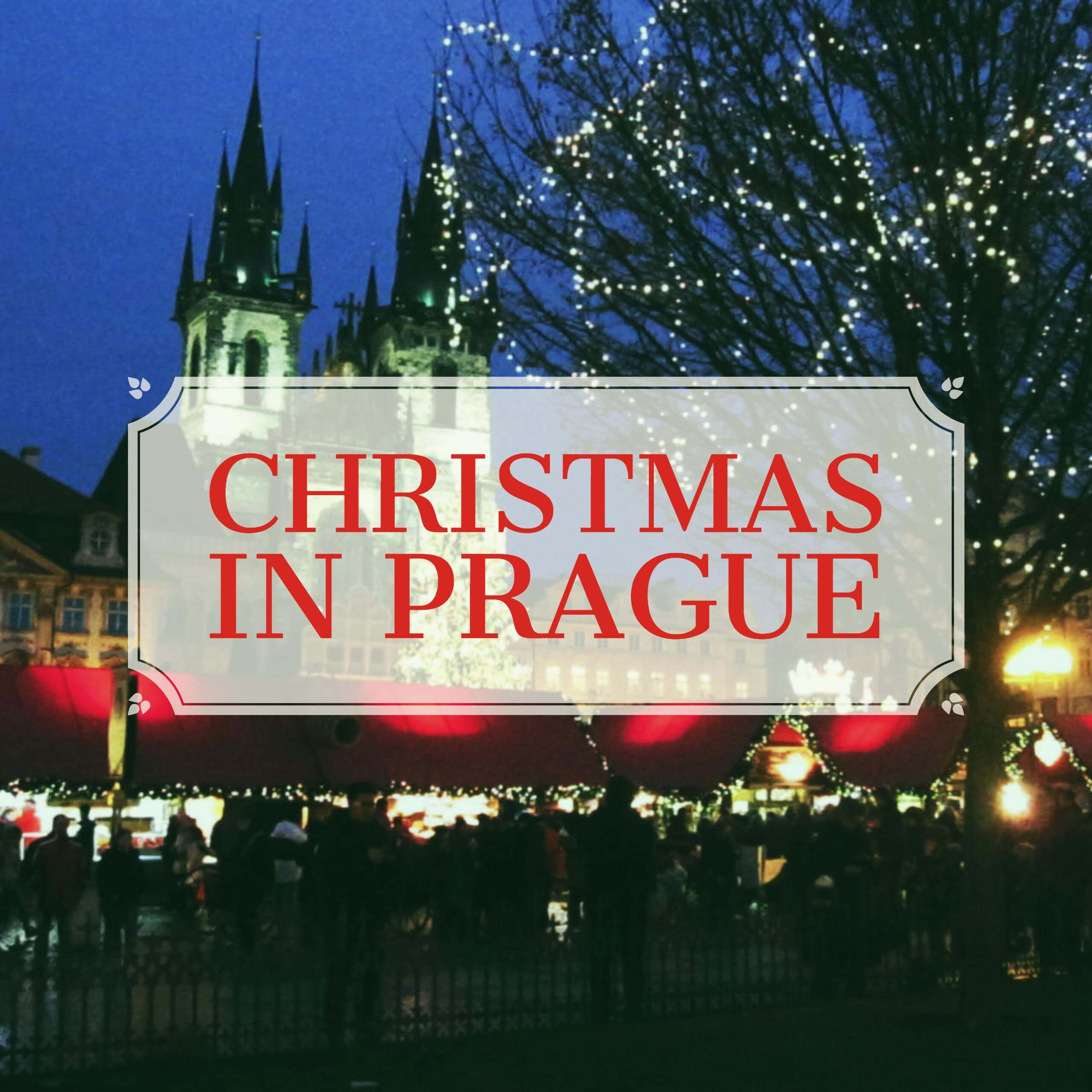 Christmas in Prague banner