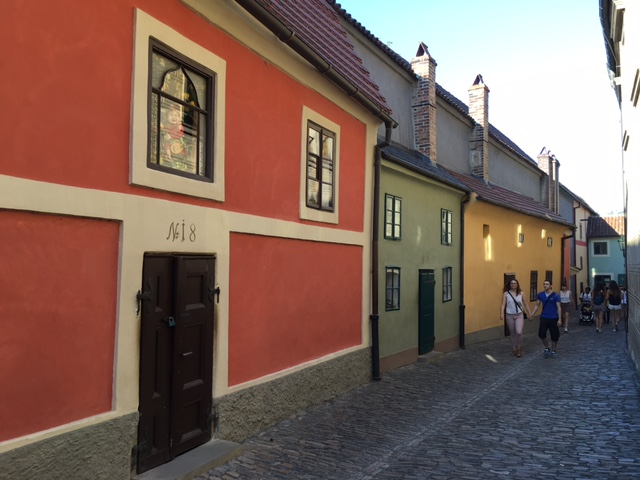 Golden Lane at Prague Castle