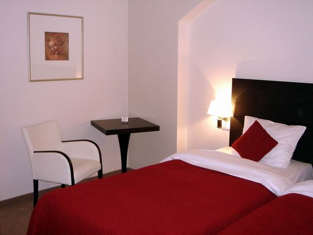 Room at Hotel Da Vinci Prague
