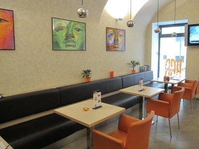 Hotel Pav Prague interior restaurant