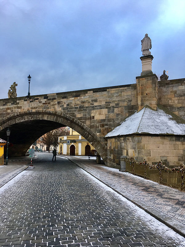 Arch of Charles bridge
