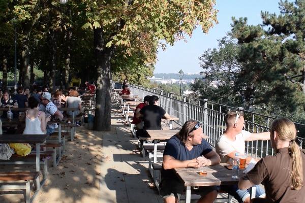 Letna beer garden tables