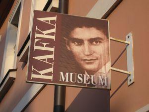 Kafka Museum sign