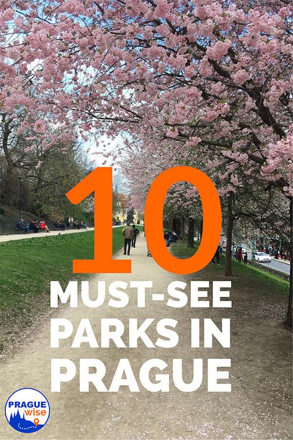 Ten parks in Prague