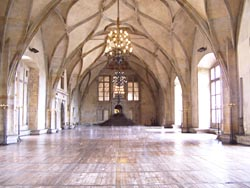 Vladislav hall at Prague Castle