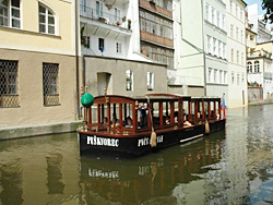 River boat in Prague