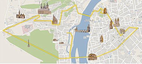Segway tour map
