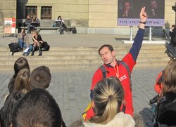 tour guide in Prague