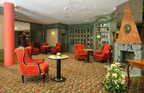 Savoy hotel prague library