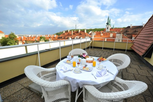 Savoy hotel Prague Terrace
