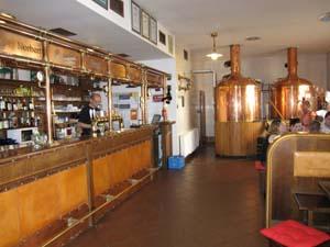 Strahov brewery and restaurant
