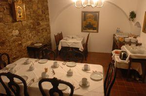 Breakfast room at Dum u velke boty