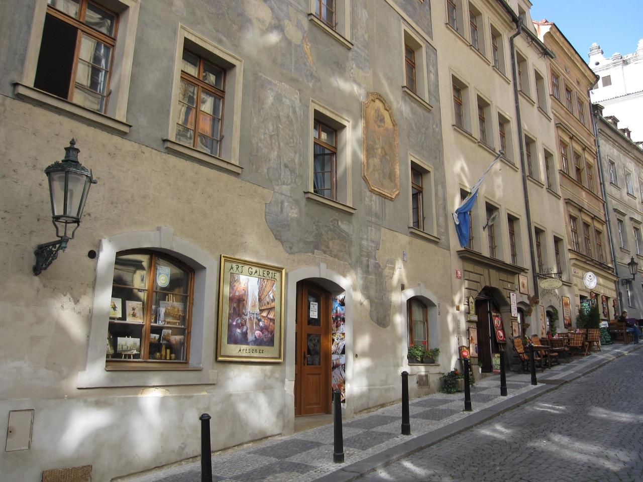 Residence Thunovska entrance