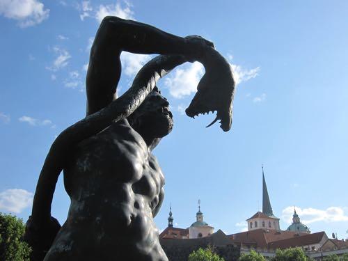 Wallenstein Garden statue